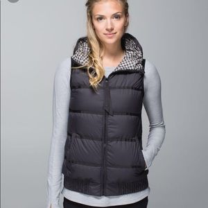 Lululemon Chilly Chill reversible vest sz 8 NWOT